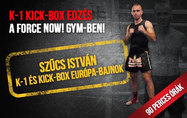K-1 kick-box edzés