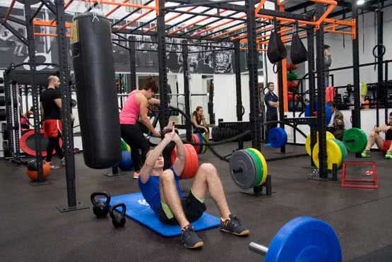 crossfit, cross tréning edzés
