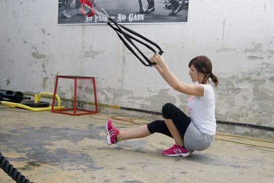 Sling tréning - saját testsúlyos edzés